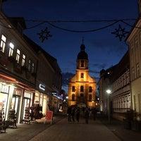 Photo taken at Steinweg (Alte Handelstraße) by Gert K. on 11/26/2014