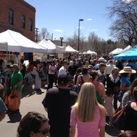 Photo taken at Boulder Farmers' Market by Daryl W. on 4/27/2013