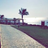 Photo taken at Beach at Reef Oasis Blue Bay Resort by Khalid . on 9/27/2017