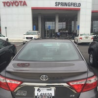 Photo taken at Springfield Toyota by B@H@ on 10/14/2015