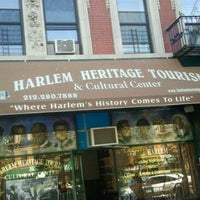 Photo taken at Harlem Heritage Tours (Harlem Heritage and Cultural Center) by Terri L. on 10/1/2012