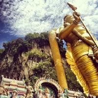 Photo taken at Sri Subramaniar Temple Batu Caves by Sarena B. on 12/16/2012