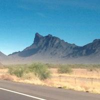 Photo taken at Picacho Peak by Steve R. on 5/22/2013