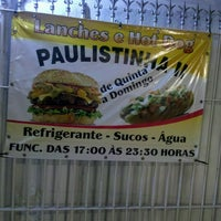 Photo taken at Paulistinha II Lanches e Hot Dog by Alex N. on 11/25/2012