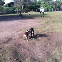 Photo taken at Balboa Park Dog Park by Darlene H. on 12/22/2012