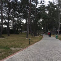 Photo taken at Sarısu Kadınlar Plajı by Sevil Y. on 2/26/2017