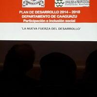 Photo taken at Gobernación  V departamento Caaguazú by Liz Fabiola G. on 7/24/2014