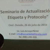 Photo taken at Gobernación  V departamento Caaguazú by Liz Fabiola G. on 7/26/2014
