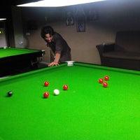 Photo taken at Breaker's Snooker Club by Bilal Malik on 5/31/2014