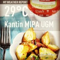Photo taken at Kantin MIPA UGM by Adimas B. on 3/8/2013