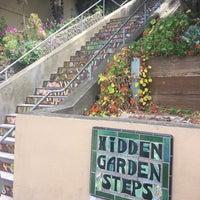 Photo taken at Hidden Garden Mosaic Steps by Jerrod on 8/6/2017