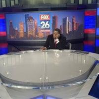 Photo taken at FOX 26 (KRIV-TV) by Isiah C. on 1/30/2017