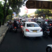 Photo taken at Perempatan Lampu Merah Lebak Bulus (Pondok Indah) by Rahayu S. on 5/24/2013