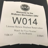 ... Photo taken at NYS DMV - Midtown Office by JOE on 1/4/2017