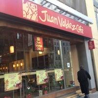 Photo taken at Juan Valdez Café by Fletch P. on 12/23/2012