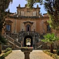 Photo taken at Villa Palagonia by Alessandro D. on 8/5/2017