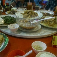 Photo taken at Topspot Food Court by gjie t. on 1/18/2013