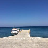 Photo taken at Chrissi Akti / Golden Beach by Sevy L. on 7/8/2016