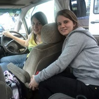 Photo taken at Our own NZL pussyhippiewagon by Delphine V. on 10/18/2014