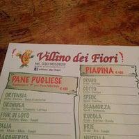 Photo taken at Villino Dei Fiori by Matteo G. on 4/2/2014