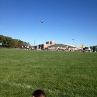Photo taken at Pennfield HS Soccer Field by Phillip O. on 10/13/2013