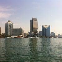 Photo taken at Dubai Creek by Ludmila A. on 2/27/2013