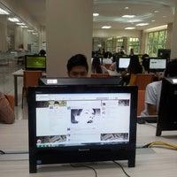 Photo taken at FEU Electronic Library by Jan Luis B. on 8/1/2014