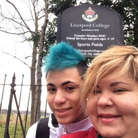 Photo taken at Liverpool College by Priscilla P. on 1/21/2014
