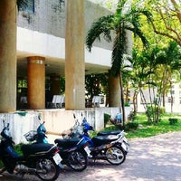 Photo taken at Faculty of Agriculture, Natural Resources and Environment by Kullanit K. on 5/4/2013