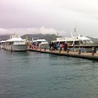 Photo taken at Cruise @ Sun Moon Lake by Monica L. on 12/30/2012
