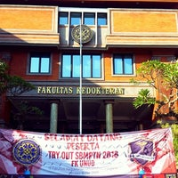 Photo taken at Fakultas Kedokteran by Stephanus A. on 5/8/2016