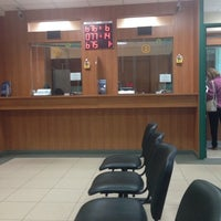 Photo taken at Halyk Bank by Asem A. on 5/14/2014