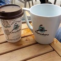 Photo taken at Caribou Coffee by Ali Rıza B. on 5/13/2014