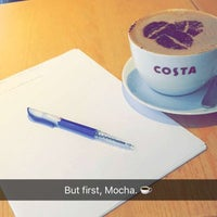 Photo taken at Costa Coffee by Aya A. on 11/15/2015