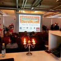 Photo taken at ImpactHub Stockholm by Åke N. on 3/31/2015
