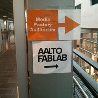 Photo taken at Aalto Fab Lab by Esko R. on 5/20/2013