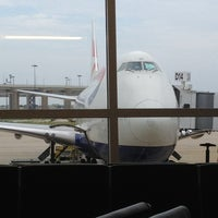 Photo taken at Gate D14 by Jeffrey C. on 6/15/2013