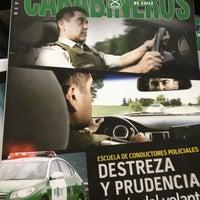 Photo taken at 19° Comisaría Carabineros Providencia by Mario R. on 2/26/2013