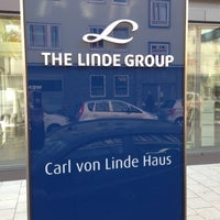 Photo taken at Linde Group HQ by Marcus S. on 10/26/2012
