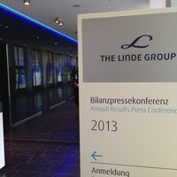 Photo taken at Linde Group HQ by Marcus S. on 3/7/2013
