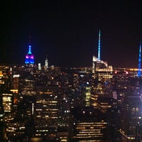 Photo prise au Top of the Rock Observation Deck par DANIEL R. le5/11/2013