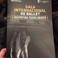 Photo taken at Teatro Oriente by Stephanie A. on 8/25/2017