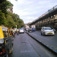 Photo taken at Charni Road Railway Station by Ali K. on 6/10/2014