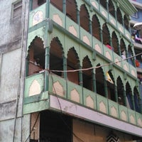 Photo taken at Colaba Market Mosque by Ali K. on 6/13/2014