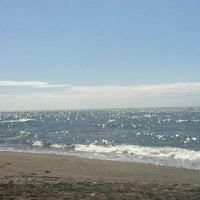 Photo taken at Playa de Calabajío by Marian V. on 3/28/2013
