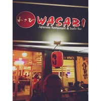 Photo taken at Wasabi by Matthew R. on 5/9/2013