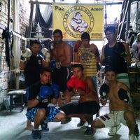 Photo taken at Academia Lobo Mau by Aulas De Boxe A. on 9/27/2014