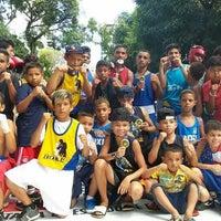 Photo taken at Academia Lobo Mau by Aulas De Boxe A. on 7/12/2014