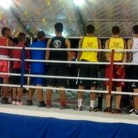Photo taken at Academia Lobo Mau by Aulas De Boxe A. on 7/7/2014