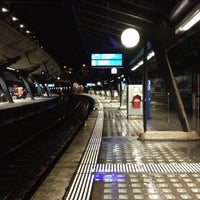 Photo taken at Bahnhof Zürich Stadelhofen by Manuel Z. on 11/4/2012